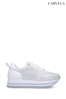 Carvela Langley White Trainers