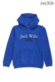 Jack Wills Boys Blue Hoodie