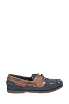 Hush Puppies Blue Henry Classic Lace-Up Shoes