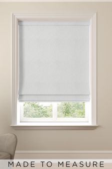 Cullen Ivory Cream Made To Measure Roman Blind