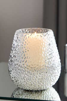 Monroe Glass Hurricane Vase