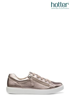 Hotter Chase Lace Up/Zip Deck Shoes