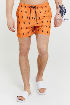 U.S. Polo Assn. Horsemen Swim Shorts