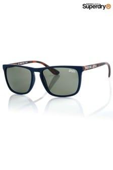 Superdry Navy Shockwave Sunglasses
