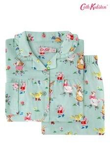 Cath Kidston® Kids Blue Skate Party Woven Pyjamas