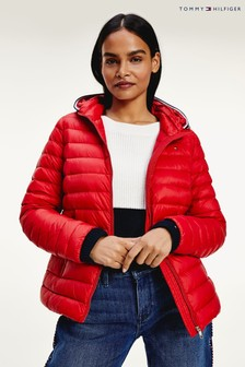 Tommy Hilfiger Red Essential Lightweight Packable Down Jacket