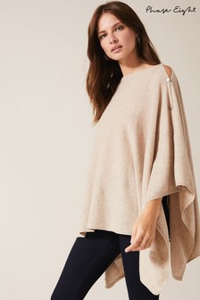 Phase Eight Beige Noa Cashmere Poncho