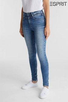 Esprit Womens Blue Skinny Trousers