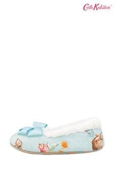 Cath Kidston Blue Mini Garden Club Slippers