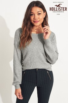 Hollister Grey Jumper