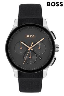 BOSS Peak Silicone Strap Watch