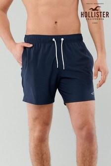 Hollister Navy Swim Shorts