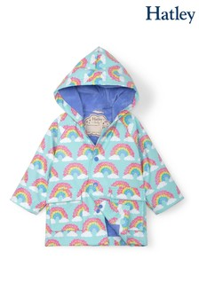 Hatley Blue Magical Rainbows Baby Raincoat