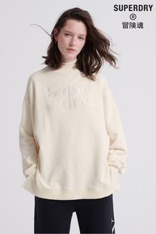 Superdry Ana High Neck Crew Sweatshirt