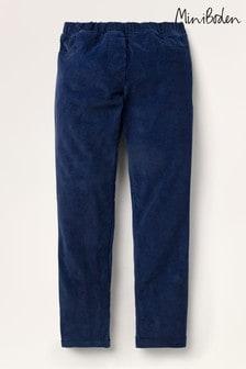 Boden Blue Cord Leggings