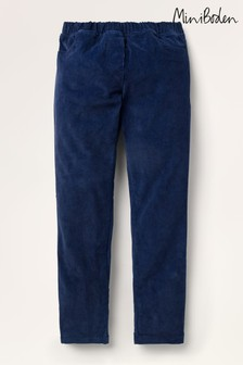 Mini Boden Blue Cord Leggings