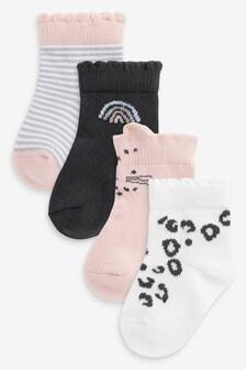 4 Pack Socks (Younger)