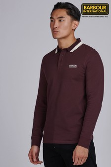Barbour® International Engine Long Sleeve Polo