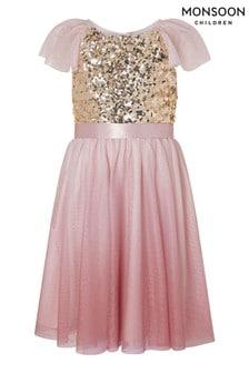 Monsoon Truth Pink Dress