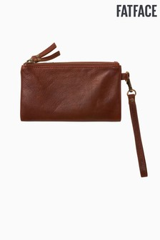 FatFace Brown Connie Clutch Purse