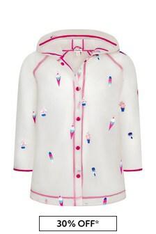 Girls Cool Treats Swing Raincoat