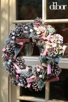 Sherbert Pine Wreath by Dibor