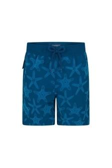 Vilebrequin Boys Navy Starfish Swim Shorts