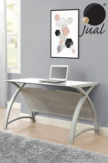 Helsinki 1300 Grey Laptop Table By Jual