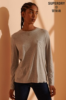 Superdry Scripted Long Sleeved Crew Top