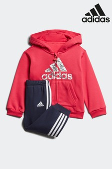 adidas Infant Badge Of Sport Tracksuit