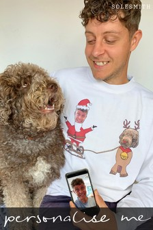 Personalised Dog And Owner Jumper by Solesmith