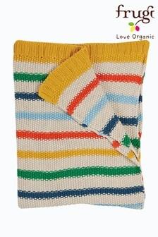 Frugi Organic Cotton Rainbow Stripe Blanket