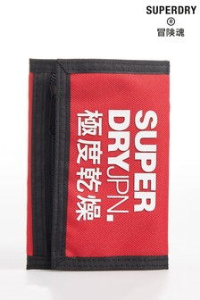 Superdry Red TriFold Wallet
