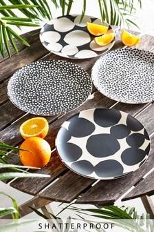 Arlo Set of 4 Dinner Plates