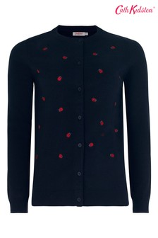 Cath Kidston® Ladybird Embroidered Cardigan