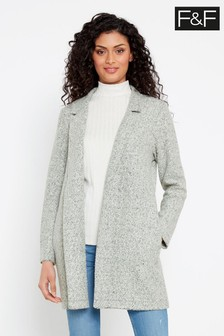 F&F Grey Snit Coat
