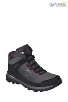 Regatta Grey Lady Highton Stretch Mid Walking Boots