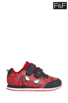 F&F Red Spiderman Retro Trainers