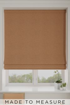 Soho Rust Orange Made To Measure Roman Blind