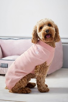 Pink Dog Jumper