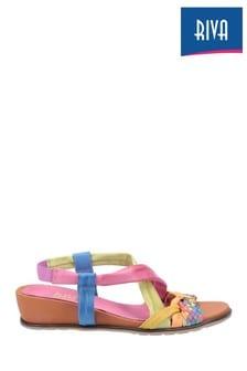 Riva Pink San Sebasitan Open Toe Sandals