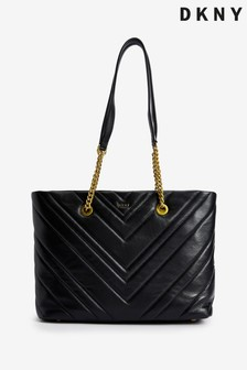 DKNY Vivian Quilted Leather Tote Bag