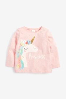 Long Sleeve Unicorn T-Shirt (3mths-7yrs)