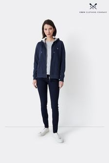 Crew Clothing Clothing Zip Through Hoody