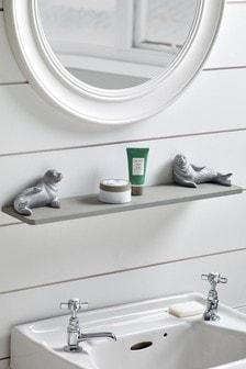 Relaxing Seals Wall Shelf