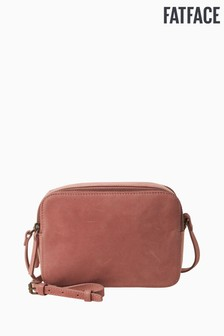 FatFace Pink Dani Double Zip Cross Body Bag