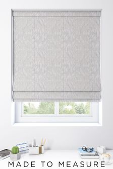 Lara Moonstone Grey Made To Measure Roman Blind