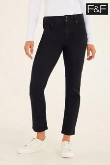 F&F Black Authentic Slim Jeans
