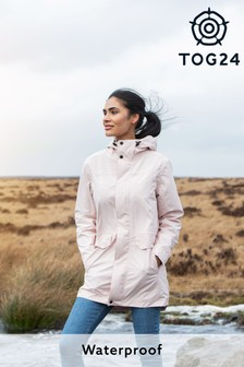 Tog 24 Pink Womens Skipsea Waterproof Jacket