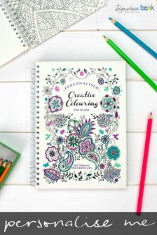 Personalised Mindful Colouring Book by Signature Book Publishing